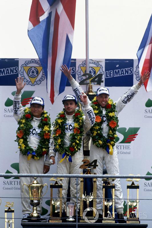 1. J.J. Lehto, Yannick Dalmas, Masanori Sekiya, McLaren F1 GTR