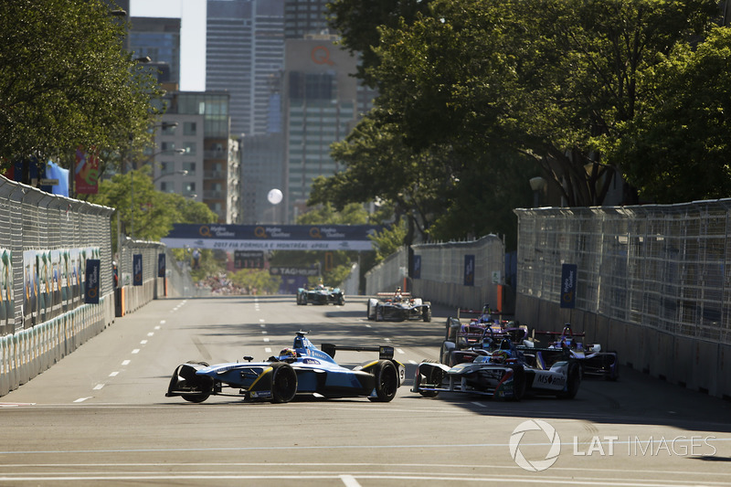 Sébastien Buemi, Renault e.Dams, Robin Frijns, Amlin Andretti Formula E Team