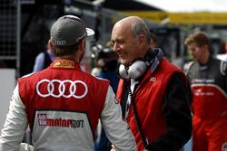 René Rast, Audi Sport Team Rosberg, Audi RS 5 DTM, mit Dr. Wolfgang Ullrich
