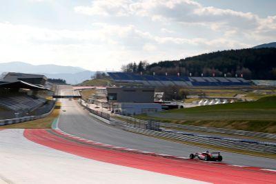 Teste de março no Red Bull Ring