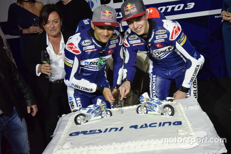 Jorge Martín, Gresini Racing Team y Fabio Di Giannantonio, Gresini Racing Team