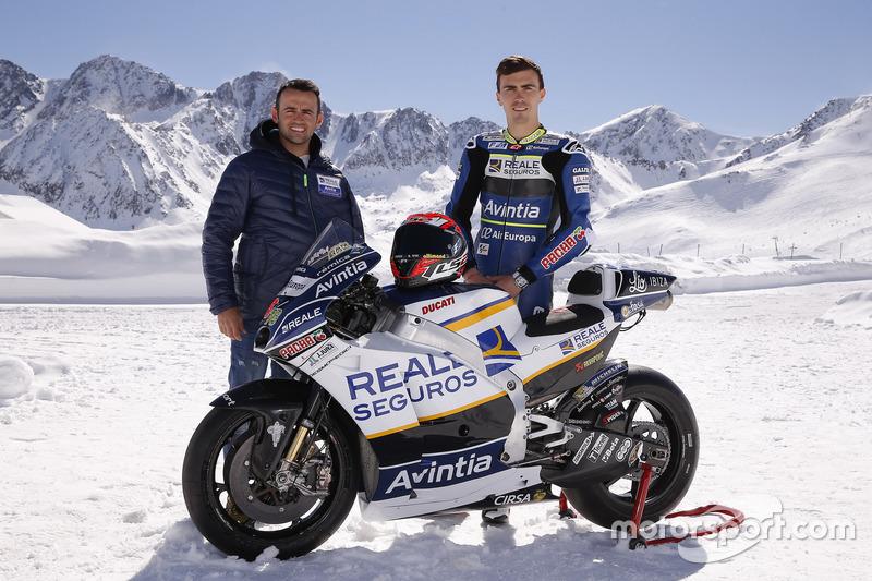Ектор Барбера та Лоріс Баз, Avintia Racing MotoGP
