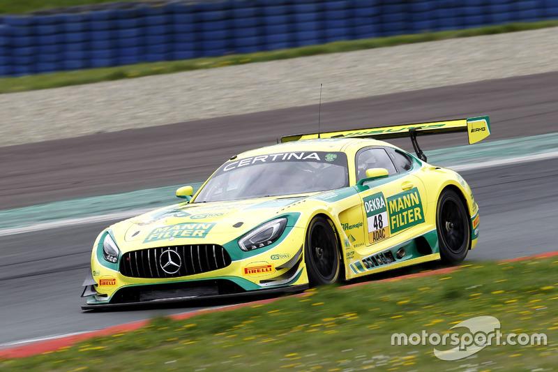 #48 Mercedes-AMG Team HTP Motorsport, Mercedes-AMG GT3