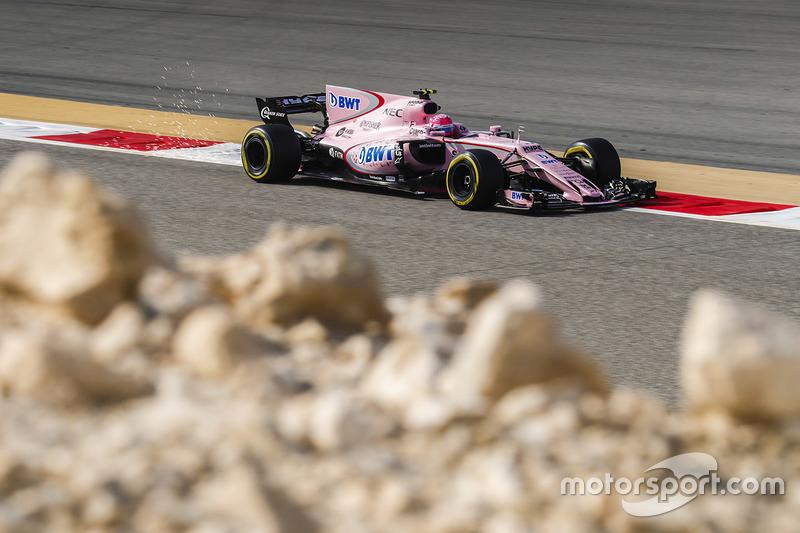 Esteban Ocon, Force India VJM10