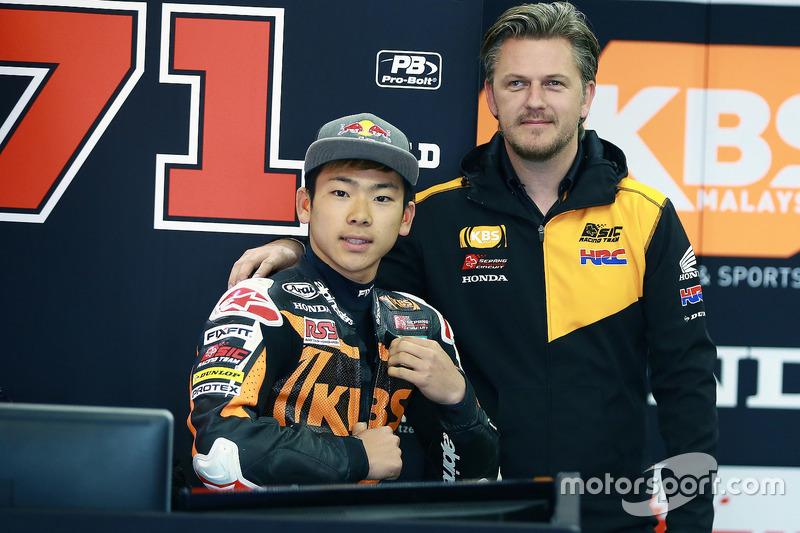 Ayumu Sasaki, SIC Racing Team, Stigefelt