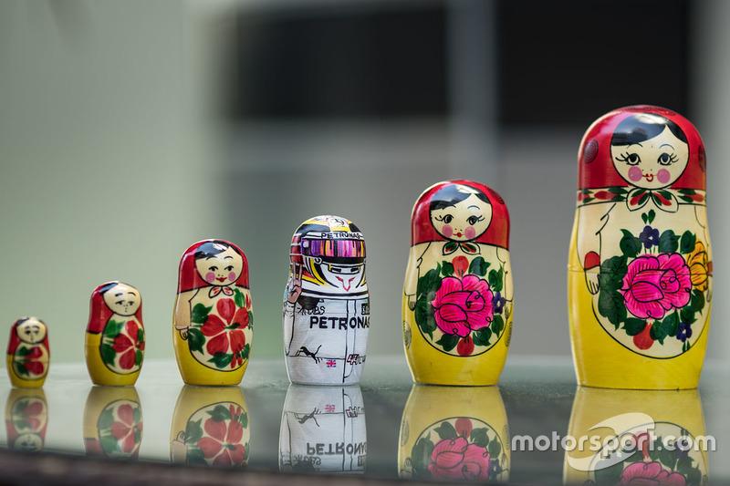 Russian Doll of Lewis Hamilton, Mercedes AMG F1