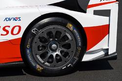 #7 Toyota Gazoo Racing, Toyota TS050 Hybrid: Mike Conway, Kamui Kobayashi, Stéphane Sarrazin, Detail