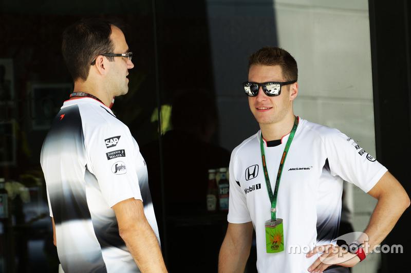 Stoffel Vandoorne, McLaren-Testfahrer