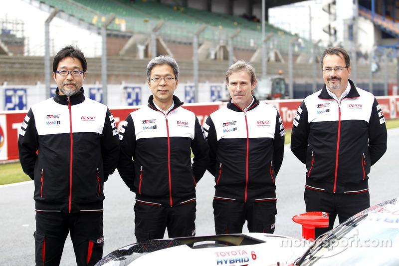 Хісатаке Мурата, Тосіо Сато, Паскаль Васслон, Роб Льобен, Toyota Racing