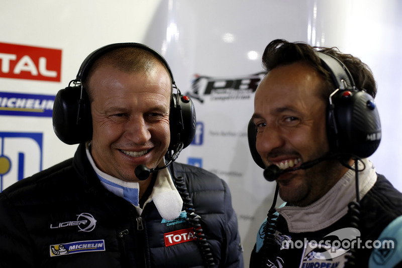 #23 Panis Barthez Competition Ligier JS P2 Nissan: Olivier Panis