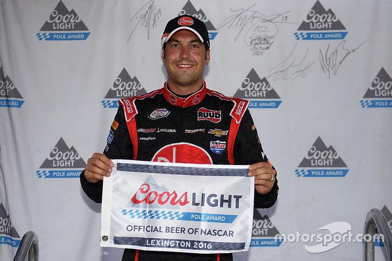Polesitter Sam Hornish Jr., Richard Childress Racing Chevrolet