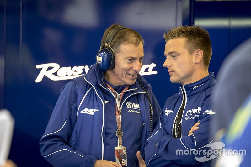 Lin Jarvis, Managing Director Yamaha Factory Racing, Alex Lowes