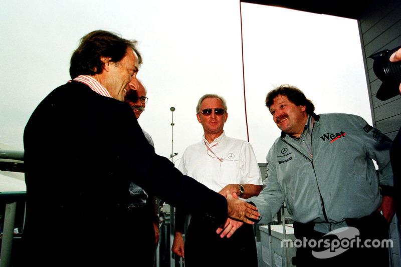 Luca Di Montezemolo, Ferrari feleicita a Norbert Haugg, Mercedes