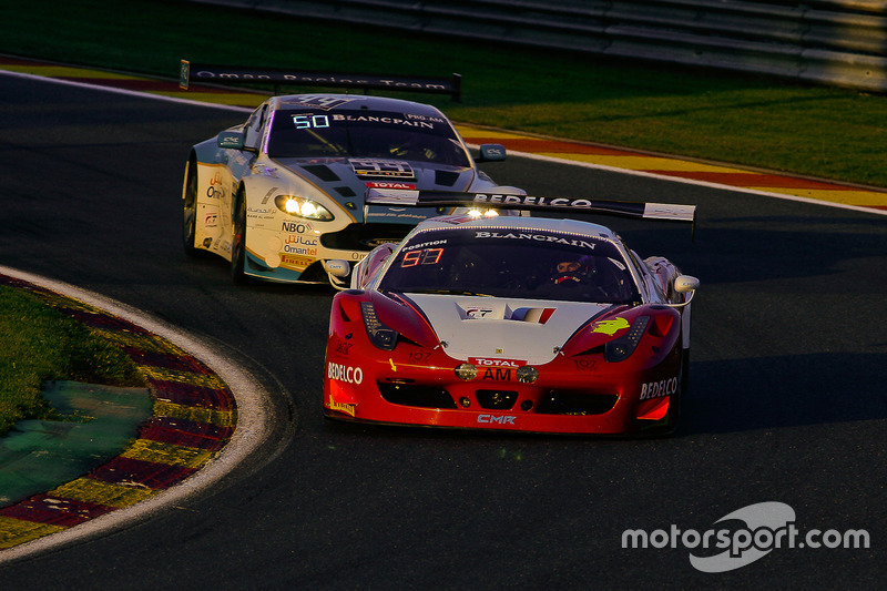 #51 AF Corse - Spirit Of Race Ferrari 488 GT3: Peter Mann, Francisco Guedes, Rino Mastronardi, Matteo Cressoni