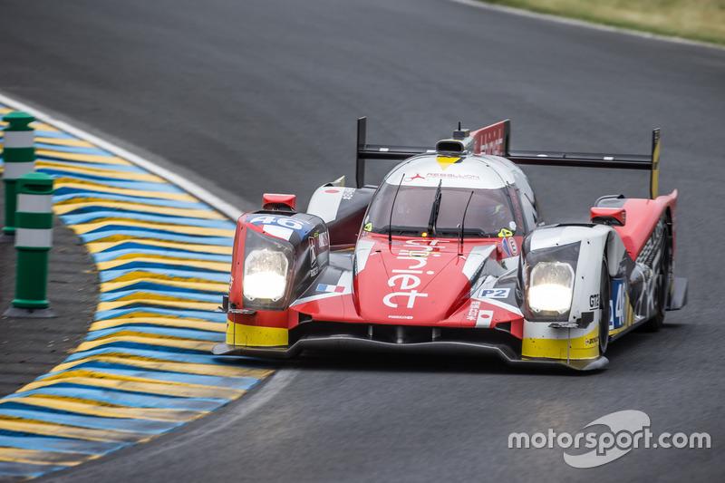 16: #46 Thiriet by TDS Racing Oreca 05 Nissan: Pierre Thiriet, Mathias Beche, Ryo Hirakawa