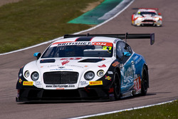 #31 Team Parker Racing Bentley Continental GT3: Rick Parfitt, Seb Morris