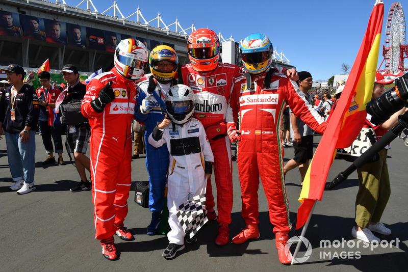 Fans de Ferrari y McLaren