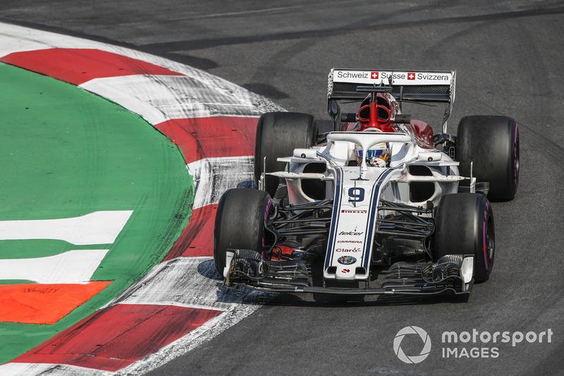10. Marcus Ericsson, Alfa Romeo Sauber C37