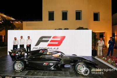 Presentación coche FIA F3 2019