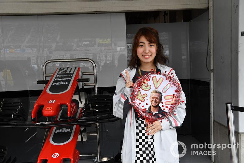 Fan of Kevin Magnussen, Haas F1 Team