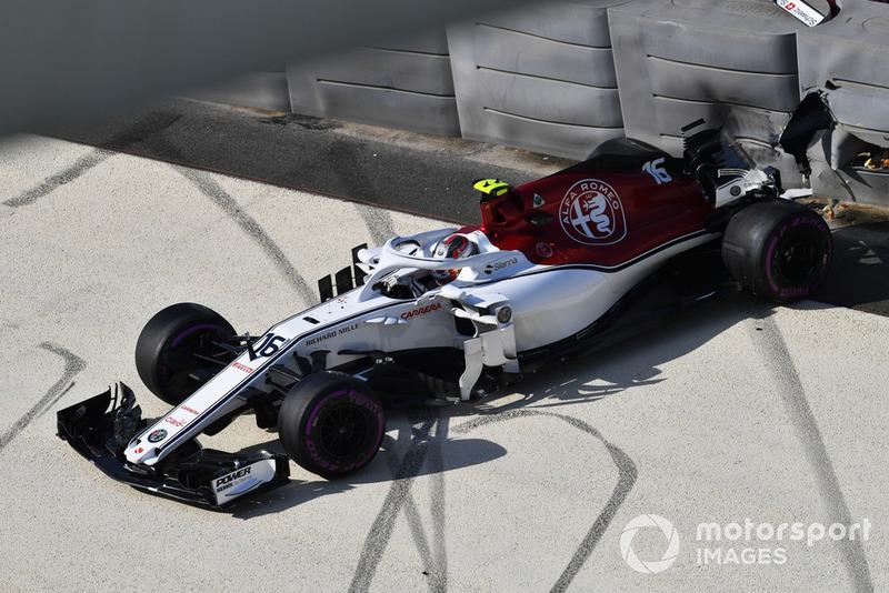 9 місце — Шарль Леклер, Sauber. Умовний бал — 11,46