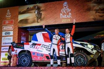 Podio: Toyota: Ronan Chabot, Gilles Pillot