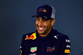 Daniel Ricciardo, Red Bull Racing in Press Conference
