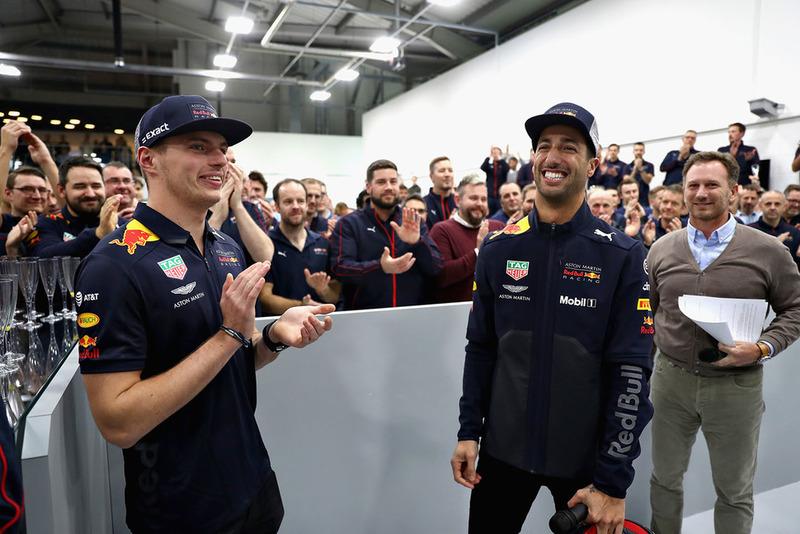 Daniel Ricciardo, Red Bull Racing et Max Verstappen, Red Bull Racing