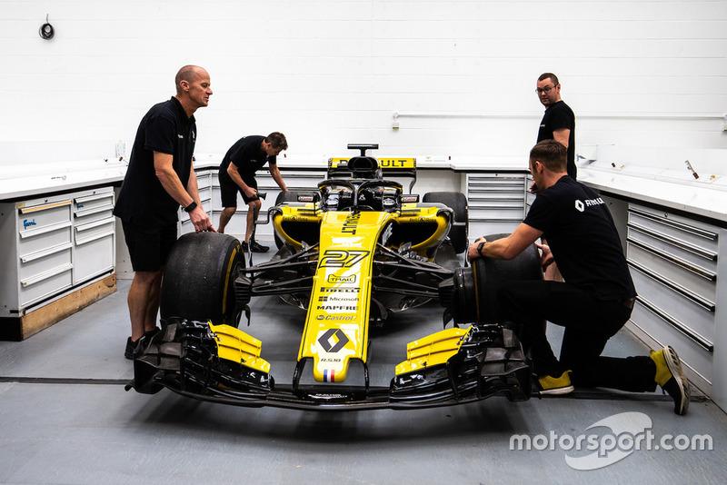Підготування Renault R.S. 18