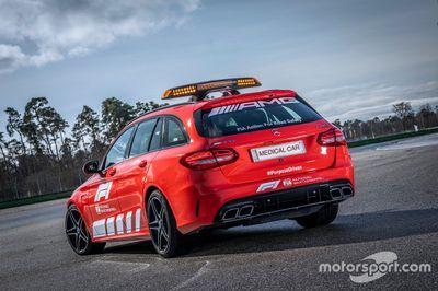 Peluncuran Mercedes AMG Safety dan Medical Car