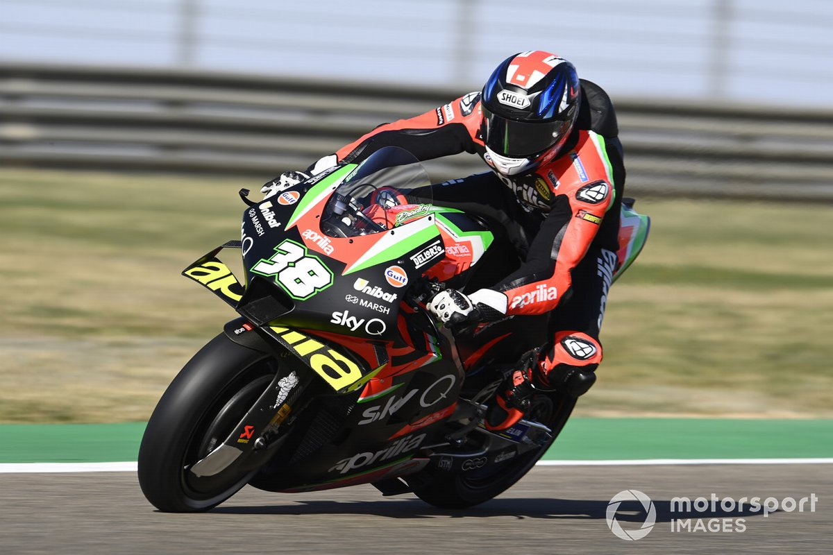 P19 Bradley Smith, Aprilia Racing Team Gresini