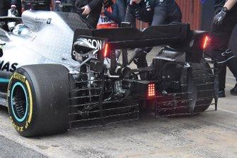 Valtteri Bottas, Mercedes AMG F1 W10 rear detail