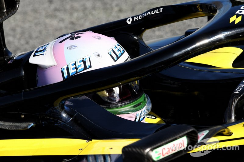 Test Helmet of Daniel Ricciardo, Renault F1 Team
