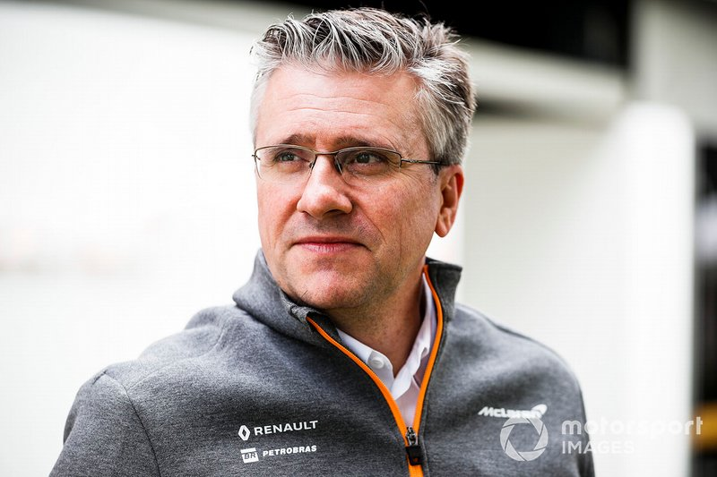 Pat Fry, Engineering Director, McLaren