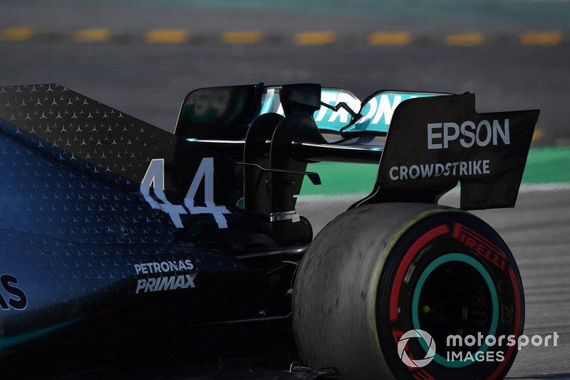 Mercedes-AMG F1 W10 rear wing