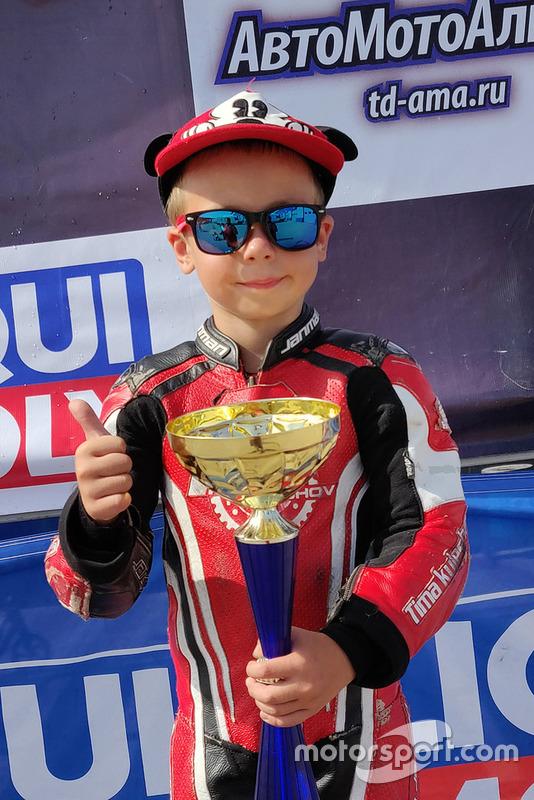 Переможець Тимур Кулєшов