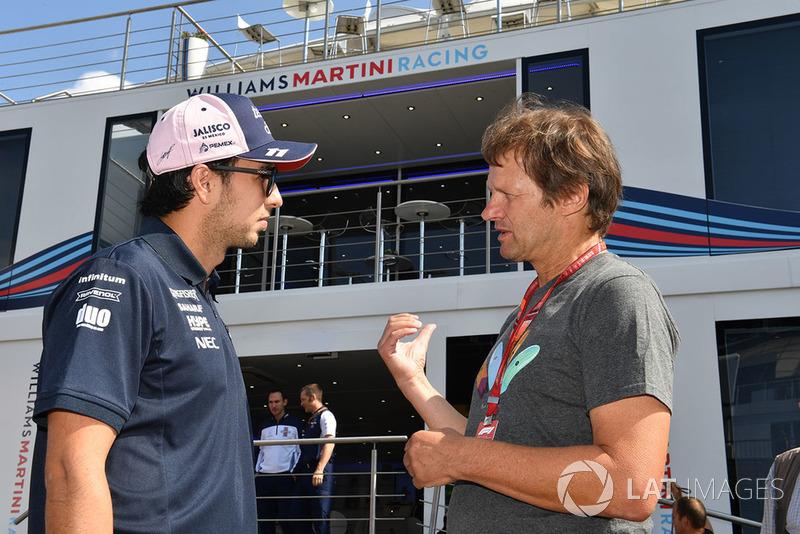 Sergio Perez, Force India e Michael Schmidt, giornalista