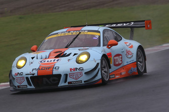 #9 Gulf Racing with Pacific Porsche 911: Rintaro Kubo, Keishi Ishikawa