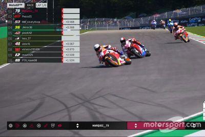 MotoGP Mugello virtuális verseny
