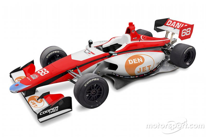 Ливрея Frost Andretti Autosport