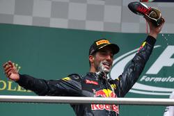 Подіум: друге місце - Даніель Ріккардо, Red Bull Racing