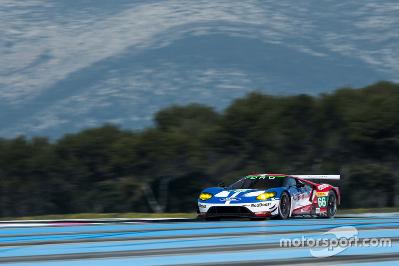 #66 Ford Chip Ganassi Racing Team UK Ford GT: Billy Johnson, Stefan Mücke, Olivier Pla