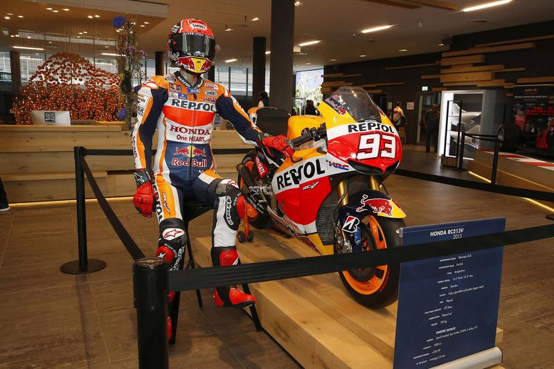 La moto di Marc Marquez, Repsol Honda Team