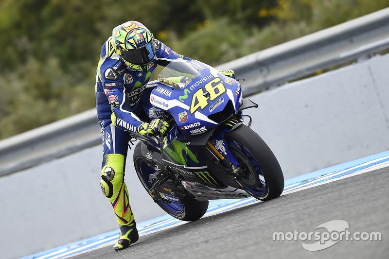 Spanien, Jerez: Valentino Rossi (Yamaha)