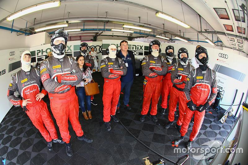 Phoenix Racing team area