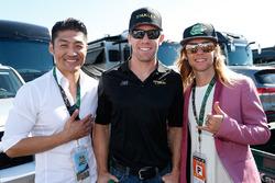 Les acteurs de NTMT avec Carl Edwards, Joe Gibbs Racing Toyota
