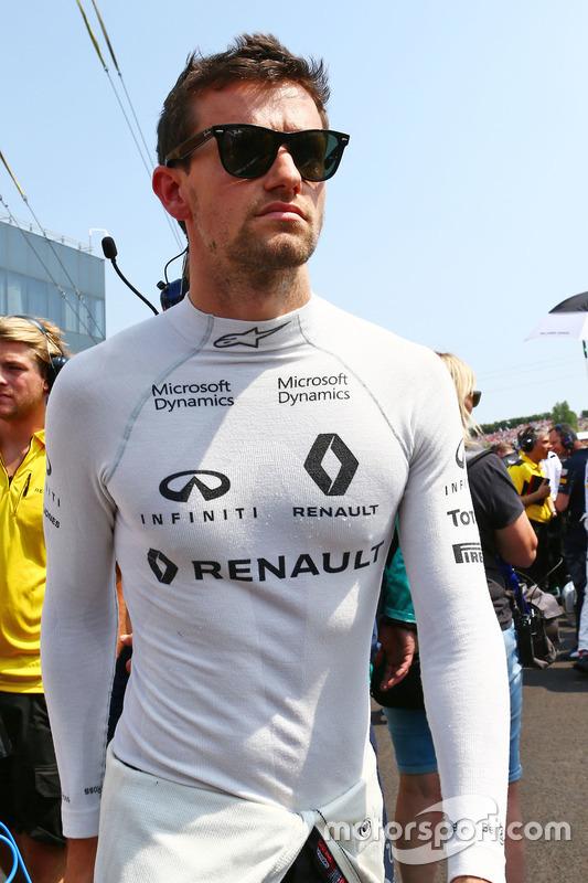 Jolyon Palmer, Renault Sport F1 Team on the grid