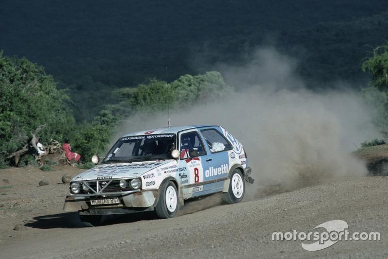 Kenneth Eriksson, Peter Diekmann, Volkswagen GTi