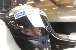 Нико Росберг в новом Mercedes AMG F1 W07