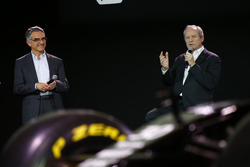 Jerome Stoll, Renault Sport F1 president met Patrice Ratti, Renault Sport Technologie general manag